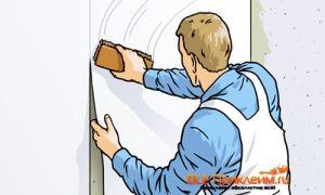 Особенности поклейки обоев на стены из ОСБ плиты