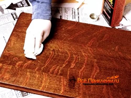 Подготовка мебели к обклейке пленкой