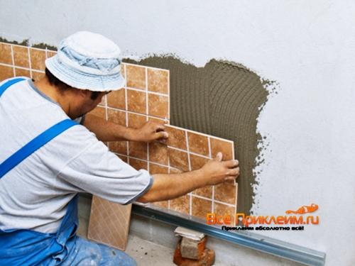 Клей сделать плиточный