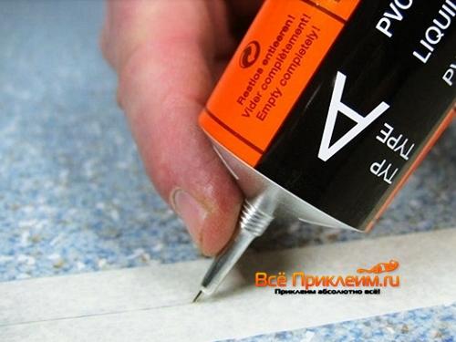 Какой клей использовать для линолеума: Клей под линолеум и для стыков
