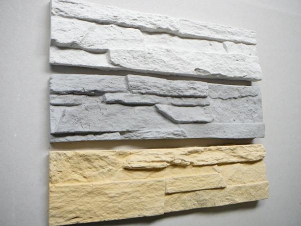 На что клеить гипсовый декоративный камень